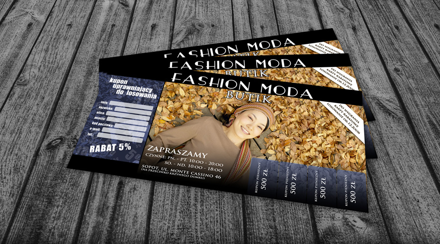 Fashion Moda Flyer